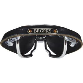 Brooks Team Pro S Chrome Sadel, black